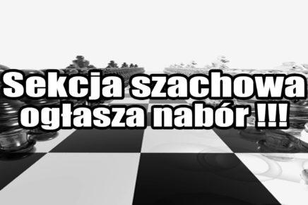 Nabór do sekcji szachowej !!!