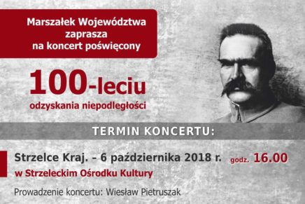 Koncert poświęcony 100-leciu odzyskania niepodległości