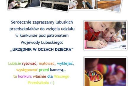 Konkurs artystyczny dla przedszkolaków organizowany przez LUW