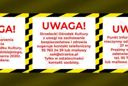 UWAGA! #ZOSTANWDOMU